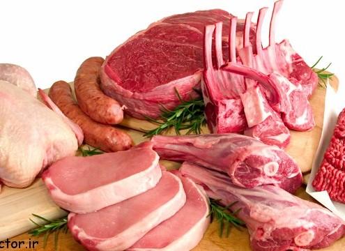 مقایسه ارزش غذایی انواع گوشت ها